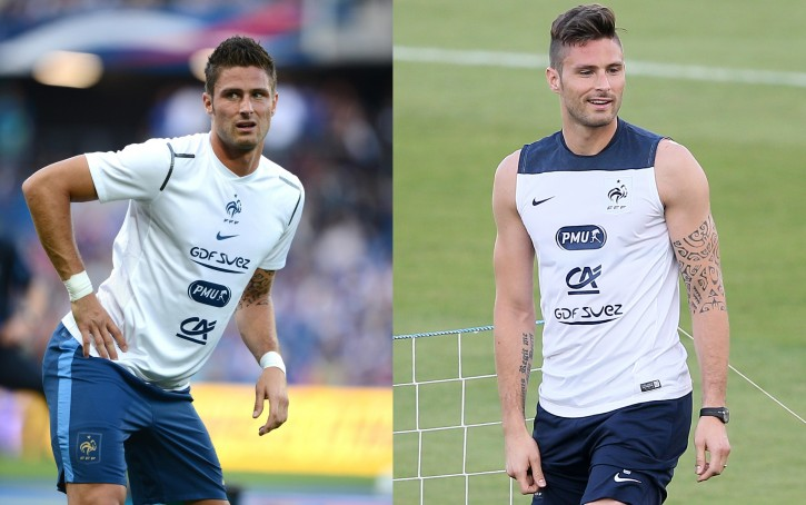 FOOT - MATCH AMICAL - 2012 giroud (olivier)